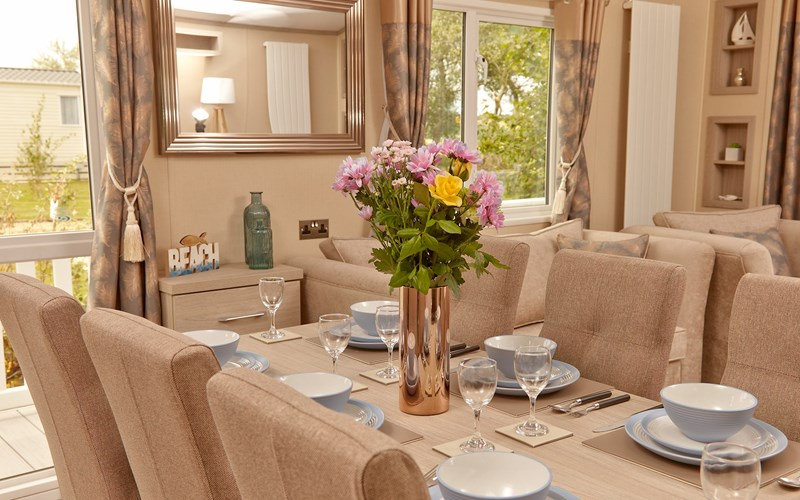 The Lakes Rookley Caravan Dining