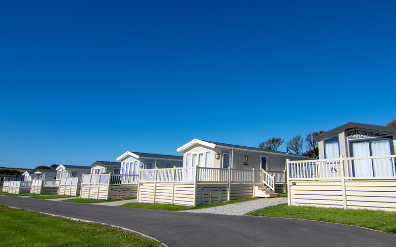 Bude Holiday Resorts caravans exterior