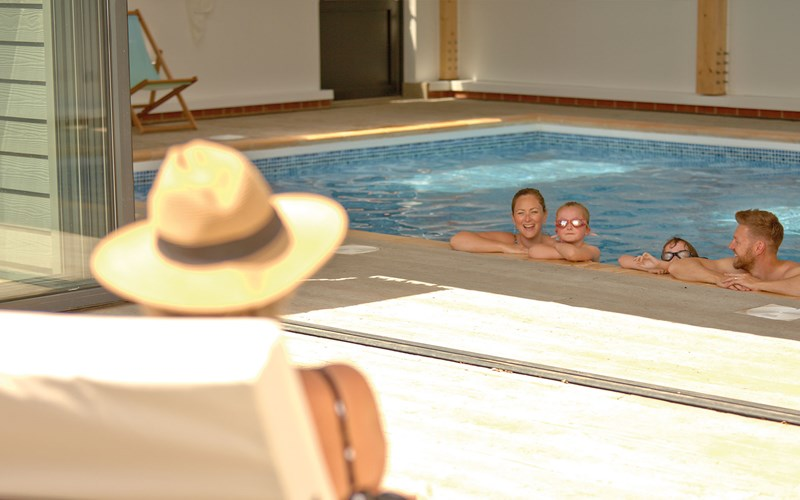 Indoor swimming pool Bay Colwell