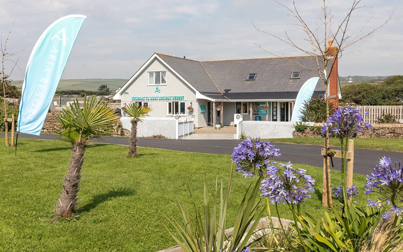 Bude Holiday Resort reception