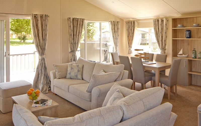 Newperran Lodge Living Area