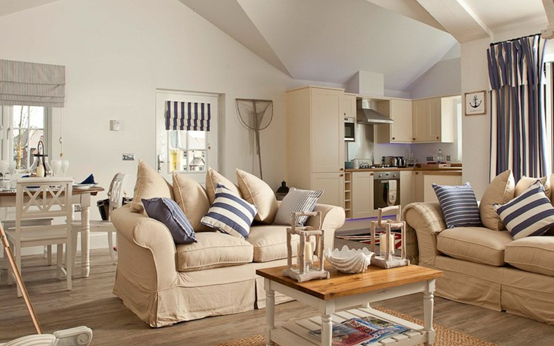 Bay Filey premium beach house 2 lounge