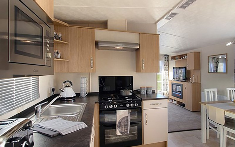 Caravan Kitchen Bude Resort