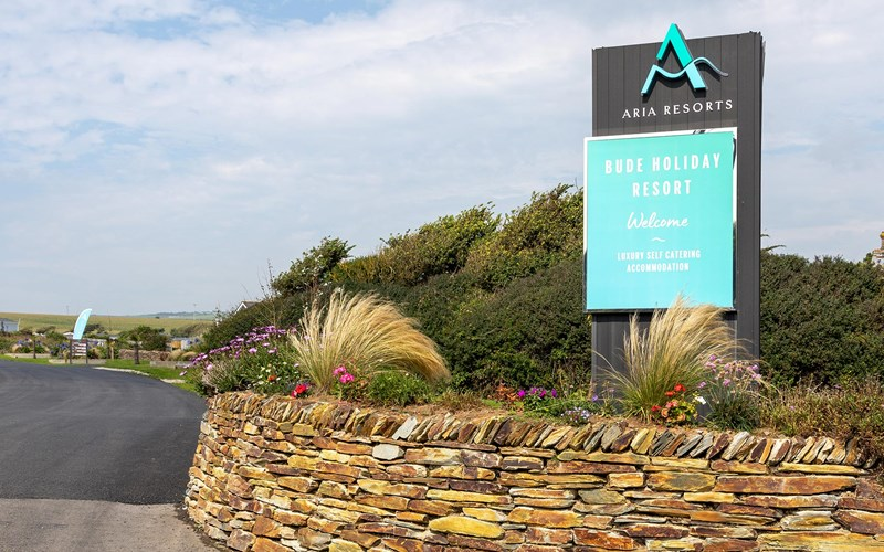 Bude Holiday Resort Entrance