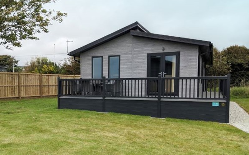 Premium Lodge Exterior Bude Holiday Resort