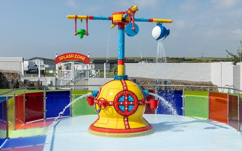 Bude splash zone swimming pool