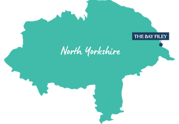 North Yorkshire Aria Resorts Map
