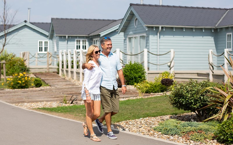 Bay Filey couple lodges