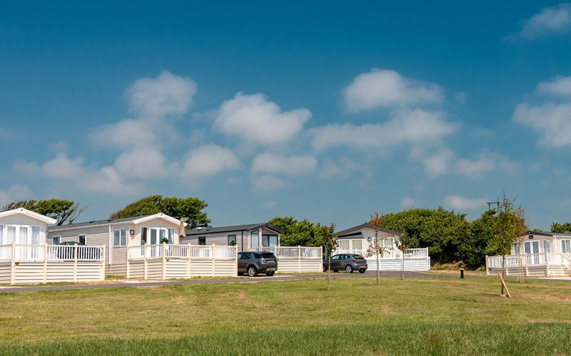Bude Holiday Resort caravans
