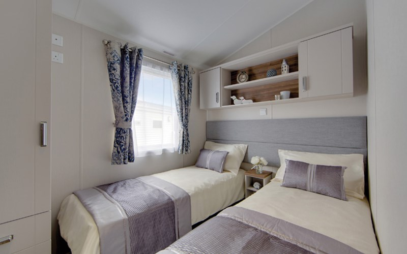 Caravan Twin Bedroom