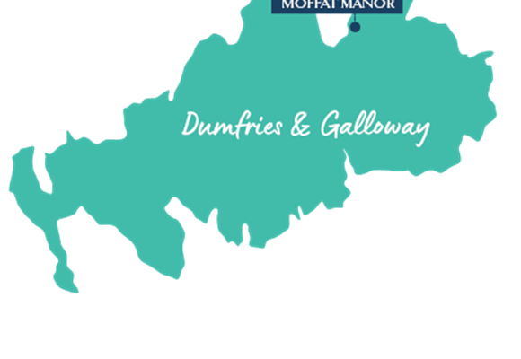 Dumfries & Galloway Aria Resorts Map