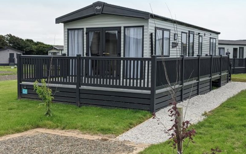 Premium Caravan Exterior Bude Holiday Resort