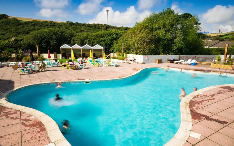 Outdoor Swimming Pool Newquay Bay Resort